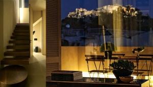 Deserty Home Living  Athens – City Guide acropolos view house by minas kosmidis