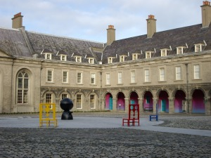 Dublin - City Guide_IMMA  Dublin City Guide imma courtyard