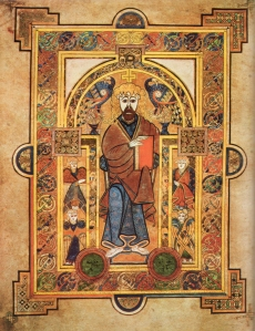 Dublin City Guide_Book of Kells  Dublin City Guide kellsfol032vchristenthroned