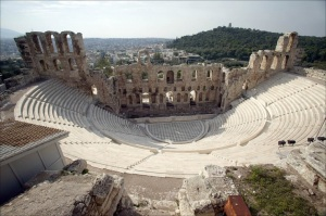 Points of interest  Athens – City Guide theatre of dionysos and odeion of herodes atticus