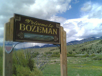 welcome_to_bzn_sign  Bozeman city guide welcome to bzn sign