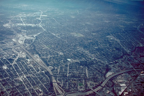 San_Jose_California_aerial_view_south