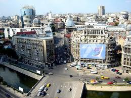 Center of the Bucharest city