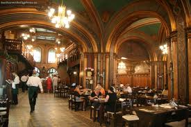 Caru'Cu Bere Restaurant at Bucharest