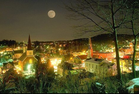 montpelier at night